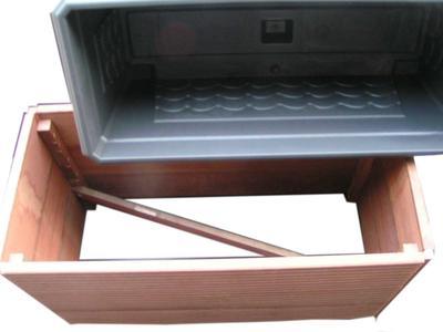 pflanzk sten pflanzkasten aus massaranduba holz holz im garten. Black Bedroom Furniture Sets. Home Design Ideas