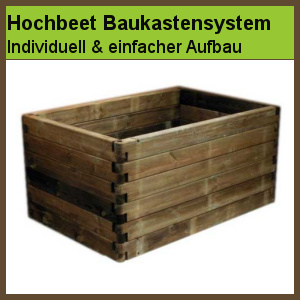 hochbeet holz stecksystem kerryskritters. Black Bedroom Furniture Sets. Home Design Ideas