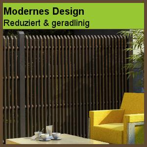 gartenzaun holz modern. Black Bedroom Furniture Sets. Home Design Ideas