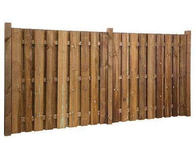 Hervorragend Basismodelle - Rustiko Sichtschutzzaun - Holz im Garten EY27