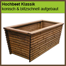 hochbeete pflanzk sten holz im garten. Black Bedroom Furniture Sets. Home Design Ideas