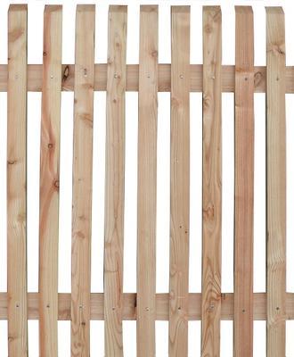 unbehandelte zaunfelder holzzaun l rche unbehandelt holz im garten. Black Bedroom Furniture Sets. Home Design Ideas