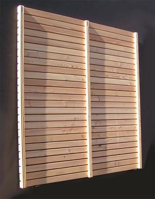 Larche Sichtschutz Rhombus Larche 68 Mm Leiste Holz Im Garten