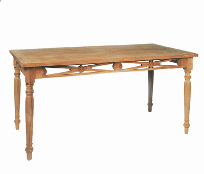 Mobel Tisch Cambridge Aus Massivem Teak Holz Holz Im Garten