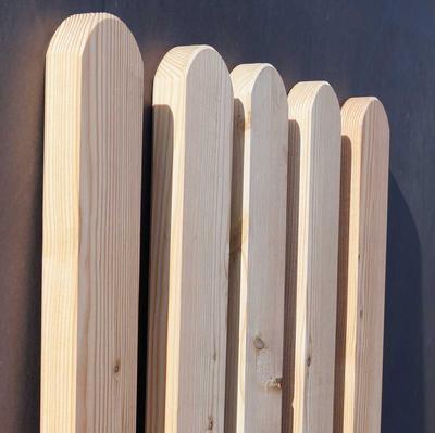 Zaunlatten Und Riegel Zaunlatte Larche Unbehandelt Holz Im Garten