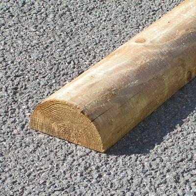 Zaunlatten Und Riegel Zaunriegel Halbrund O 8 Cm 3 00 M Holz Im