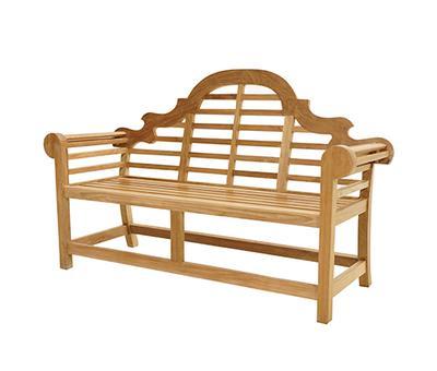 Möbel Bank Marlboro Aus Massivem Teak Holz Holz Im Garten