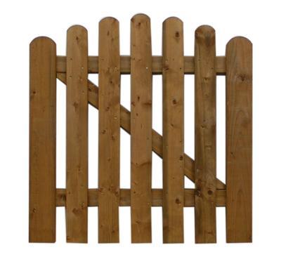 Holzz une gartentor f r friesenzaun holz im garten - Holz gartentor ...