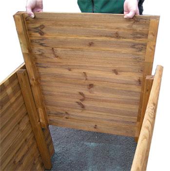 Hochbeet Klassik Hochbeet Kiefer Fur Ihren Garten Holz Im Garten