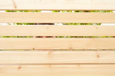 Sichtschutzzaun Sib Larche Holz Im Garten