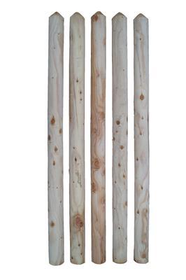 Larche Unbehandelt Zaunlatten Larche Gefrast Holz Im Garten